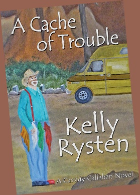 A cache of trouble lies hidden in the woods near Cassidy's canyon hideaway. The stash of banknotes has turned a greedy man to the wrong side of the law. With Cassidy in the mix, even the local search and rescue is drawn into the hunt. Will Cassidy live to see her wedding day? Will this be a cache of trouble, or the catch of Trouble? And by whom?