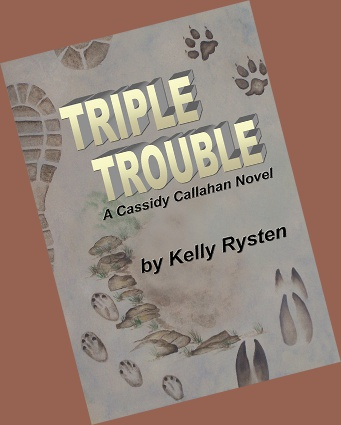 Join Cassidy Callahan in a three part tracking adventure with trouble at every turn. In Part 1, Trouble Time, all Cassidy wants to do is get her life back on track, but it seems an impossible task when she gets carjacked at gunpoint. In Part 2, Trouble Tracker, Cassidy's friend, detective Rusty Michaels, needs her help in tracking down a forest ranger who went missing on a routine maintenance hike. Cassidy finds more trouble than she bargained for in her hike into the rough and sometimes dangerous woods of Southern California. In Part 3, Trouble Target, it seems like one problem just leads to another. Drug lord Mario Peccati takes the raid on his operation personally. When he terrorizes Cassidy's family and friends, she knows there is only one solution. She must face Peccati on his own turf, with his rules. Cassidy is going to need all her wiles and skills just to stay alive as she becomes the hunted, with a hunter who knows no mercy.